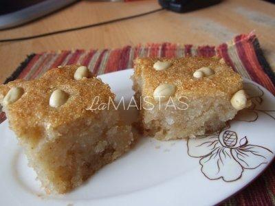 """Turkiškas pyragas """"Şam Tatlısı"""""""