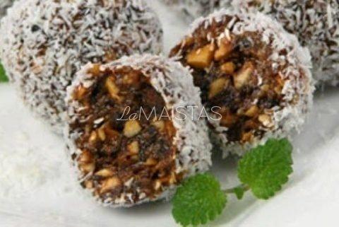 Džiovintų slyvų saldainiai