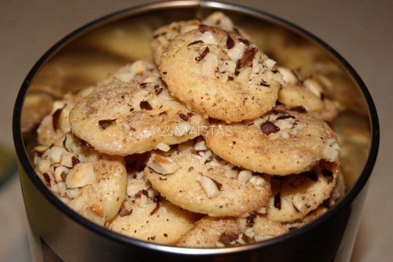 Sviestiniai sausainiai su cinamonu - nuostabiai skanūs!