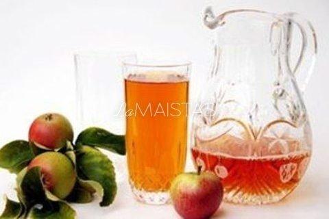 Džiovintų obuolių kisielius