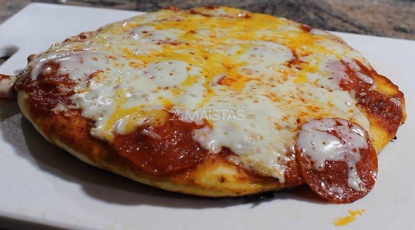 Pica be orkaitės