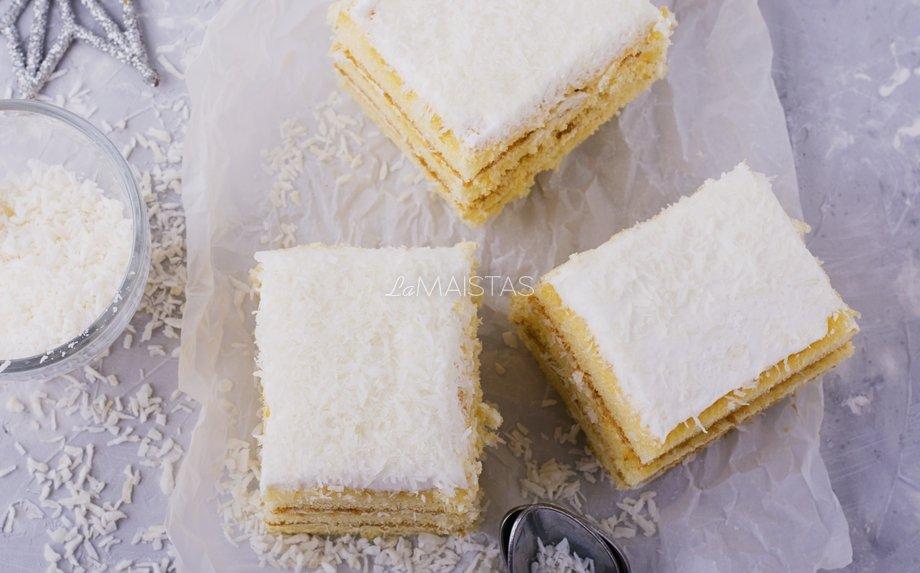 Nekeptas sausainių tortas su maskarpone - be galo skanus ir greitas