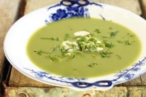 Žirnių ankščių sriuba