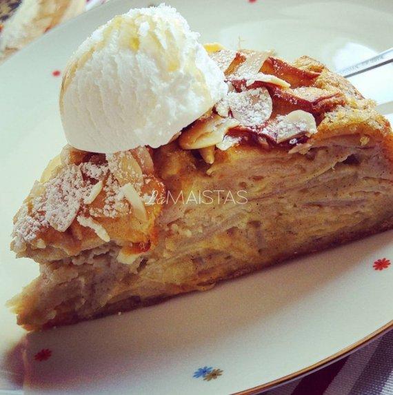 Nematomomas obuolių pyragas