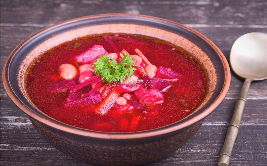 Burokėlių sriuba