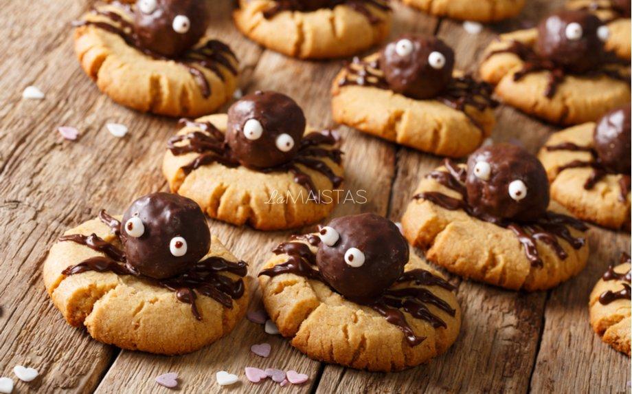 Helovino sausainiai voriukai