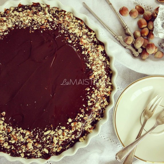 Tobulas šokoladinis pyragas