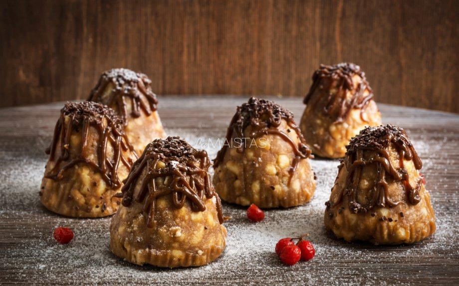 Karamelinia pyragaičiai Kankorėžiai (kankorėžiukai)