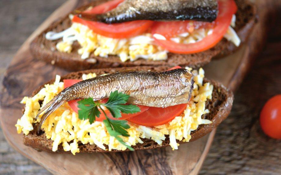 Šprotų sumuštiniai