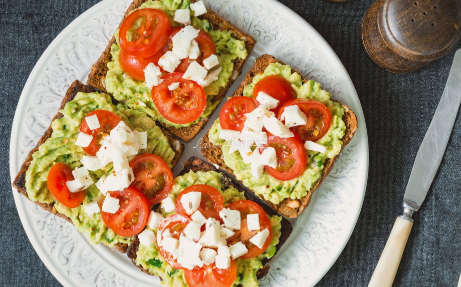 Avokadų sumuštiniai