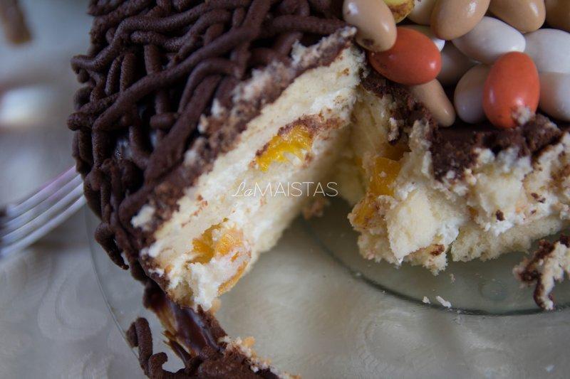 Velykinis tortas lizdas
