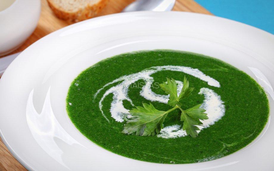 Trinta dilgėlių sriuba