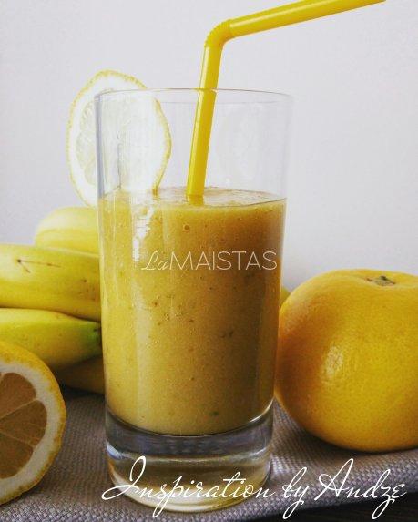 Gaivus mango kokteilis