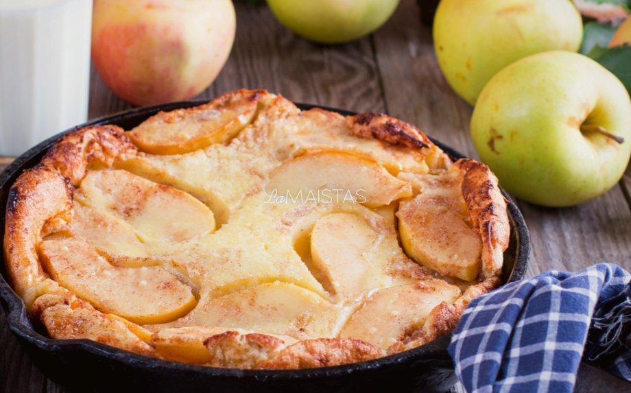 Olandiškas blynas orkaitėje su obuoliais