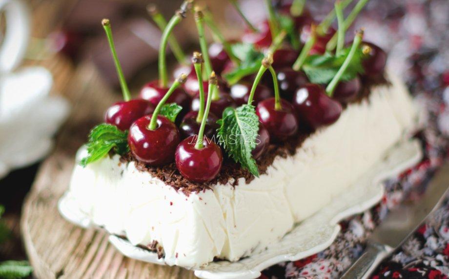 Greitas ledų tortas