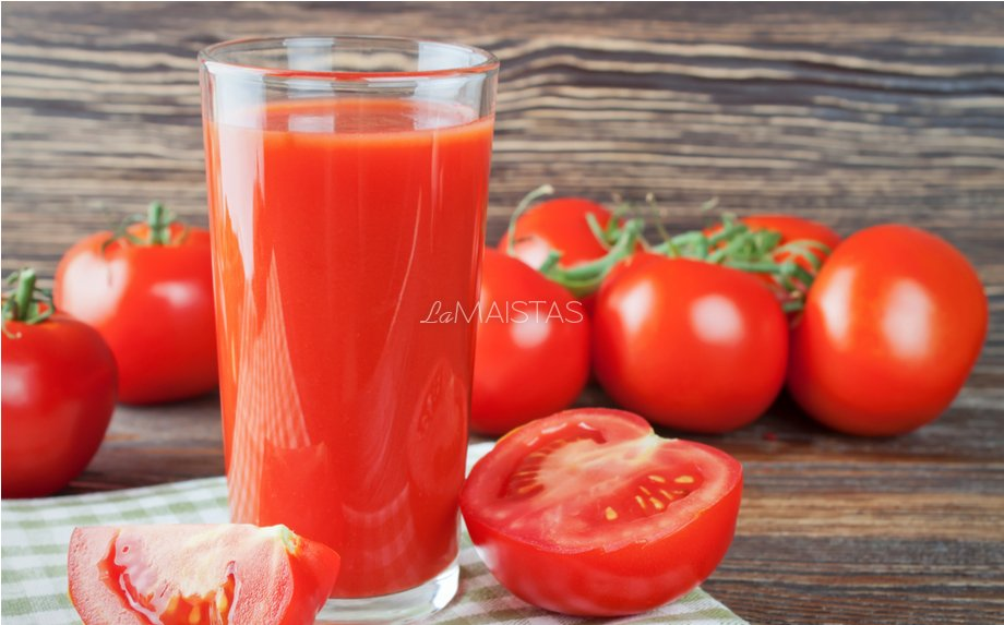 Naminės pomidorų sultys žiemai
