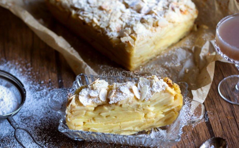 Nematomas obuolių ir kriaušių pyragas