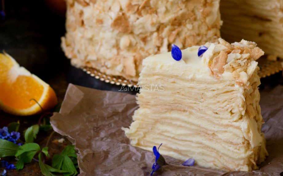 Trijų ingredientų kremas tortams ir pyragaičiams