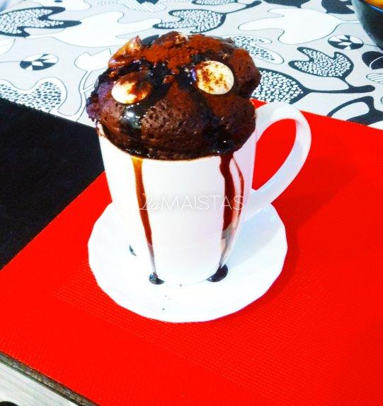 Šokoladinis pyragaitis mikrobangėje - Rudeninis vakaras