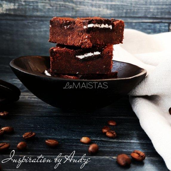 Šokoladinis oreo braunis