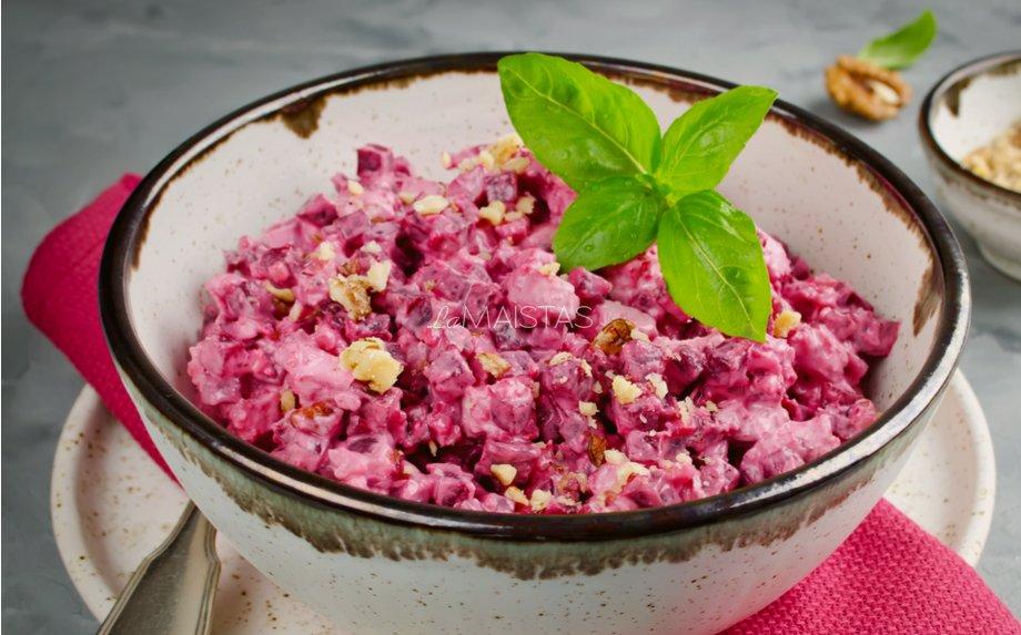 Burokų salotos su vištiena