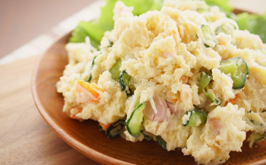 Japoni�kos bulvių salotos