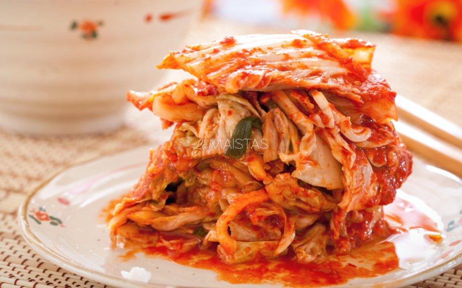 Kimči korėjitiški kopūstai