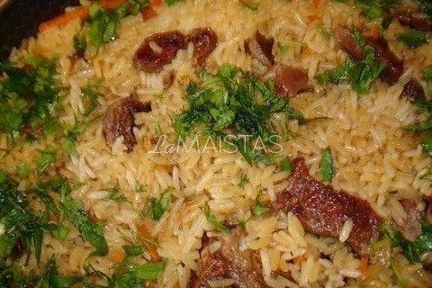Aštri troškinta aviena su ryžiais