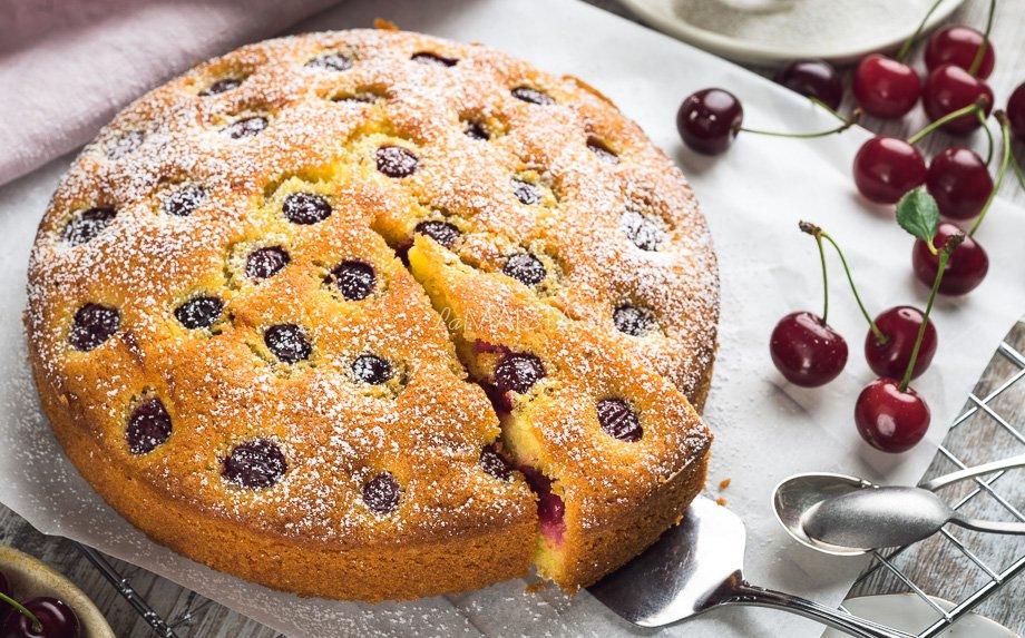 Sviestinis vyšnių pyragas