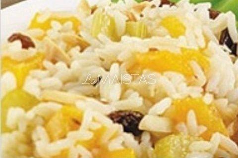 Saldžios ryžių salotos