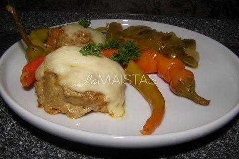 Maltinukai su morkomis ir sūriu