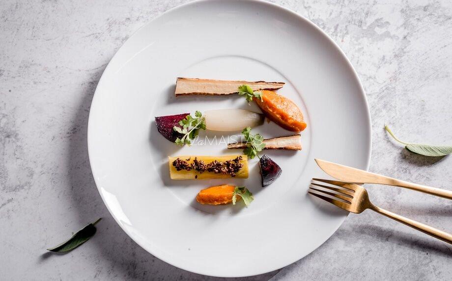 Trumpai keptos žieminės daržovės