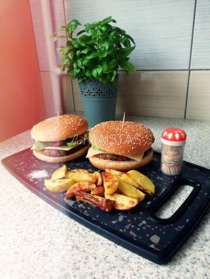 Vegetariški maltinukai mėsainiams