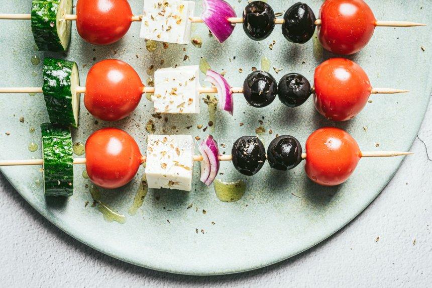 Graikiškų salotų iešmeliai