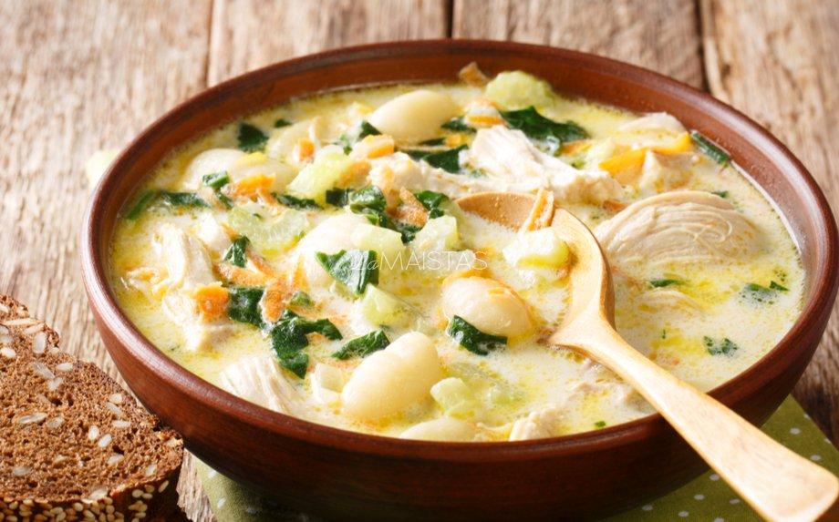 Vištienos ir bulvių sriuba
