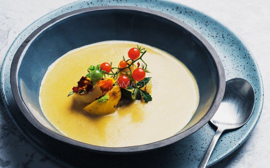 Tobula saldžių bulvių sriuba