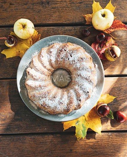 Kvapnus keksas su obuoliais