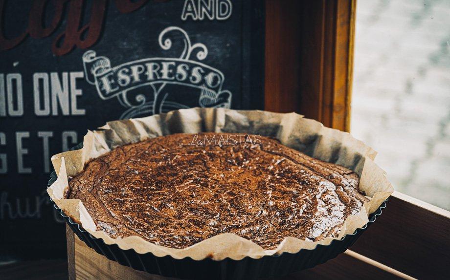 Šokoladinis braunis prancūziškai