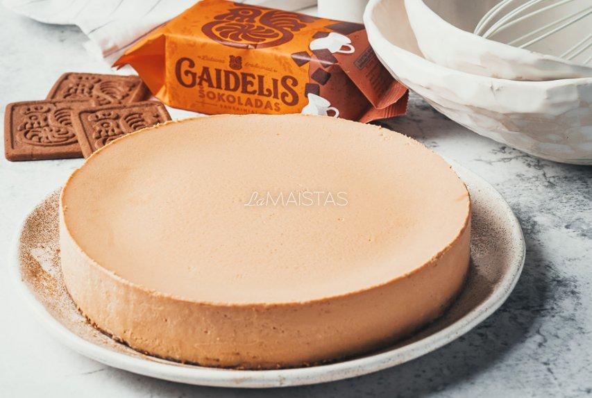 Karamelinis sūrio tortas