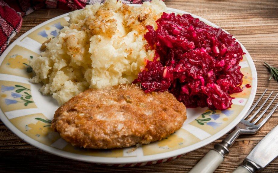 Maltos mėsos blynai