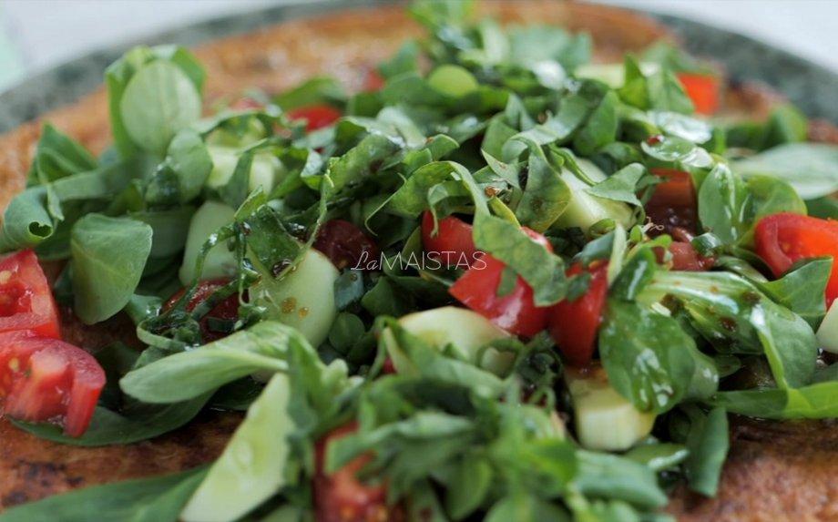 Frittata su daržovėmis pagal Gian Luca Demarco