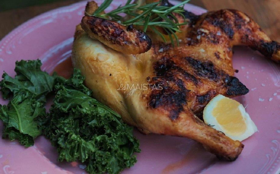 Kukurūzinis viščiukas aluje pagal Gian Luca Demarco