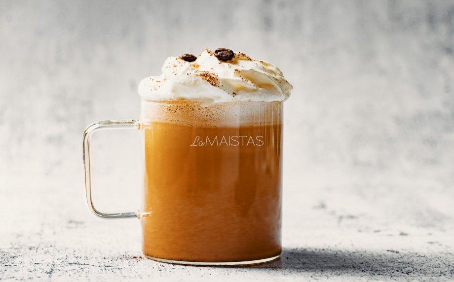 Moliūgų pyrago kava pumpkin spice latte