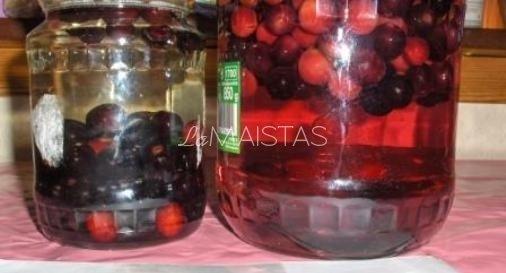 Vyšnių kompotas žiemai