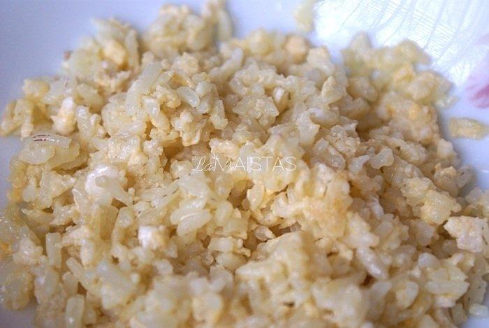 Ryžiai su kiaušiniene