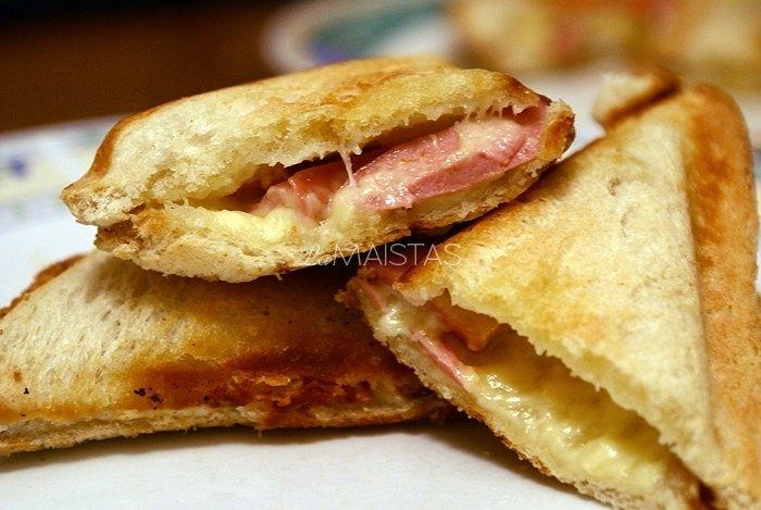 Karšti sumuštiniai kepti sumuštininėje