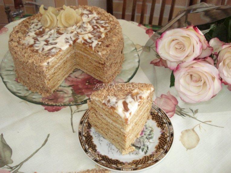 Tortas Medutis pagal Salomėją