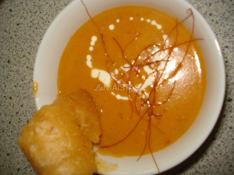Raudonųjų lęšių sriuba