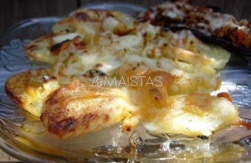 Bulvių užkandis su majonezu