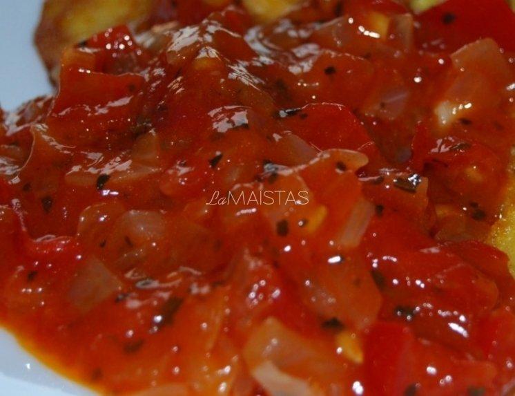 Pomidorų ir paprikų padažas